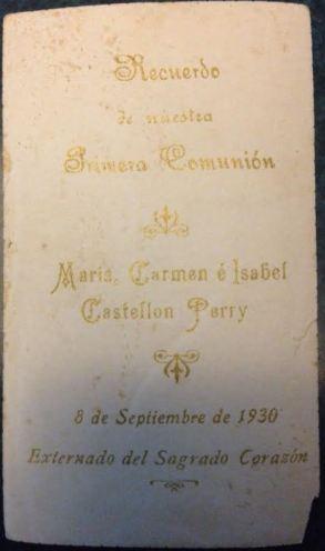 1era comunion hnas Castellon