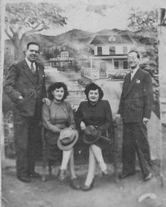 AG Y JI con esposas