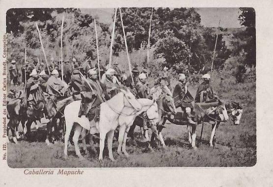 Caballeria mapuche 1902