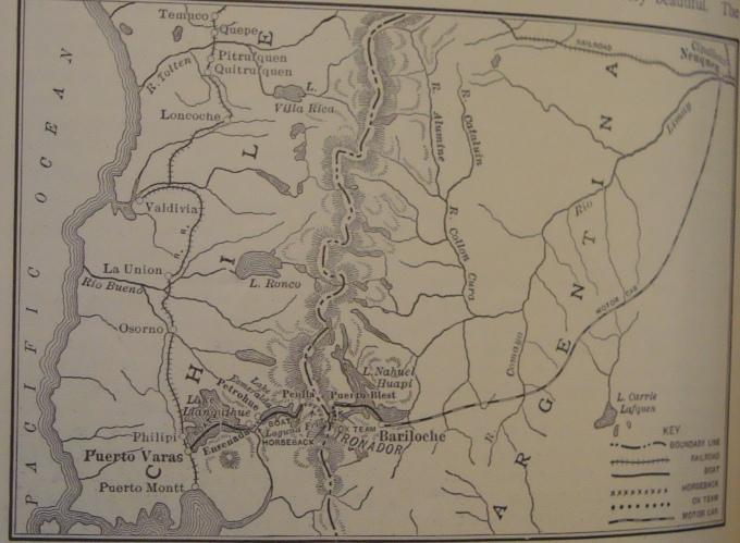 Roosevelt a Neuquen 1913