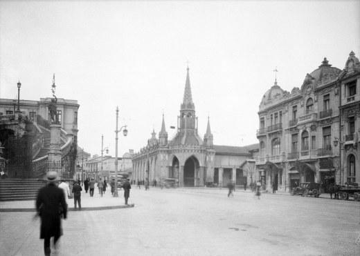 Stgo. frente al Sta Lucia 1932