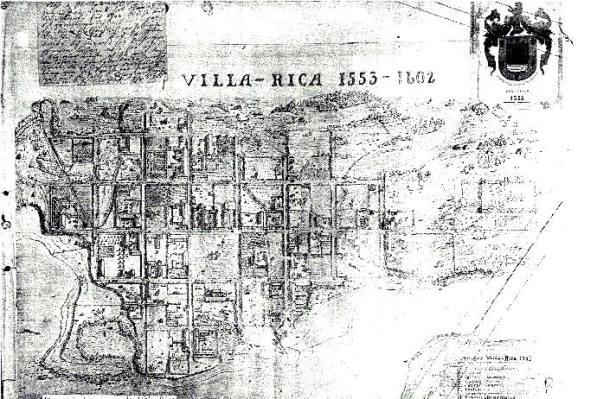Villarrica ruinas