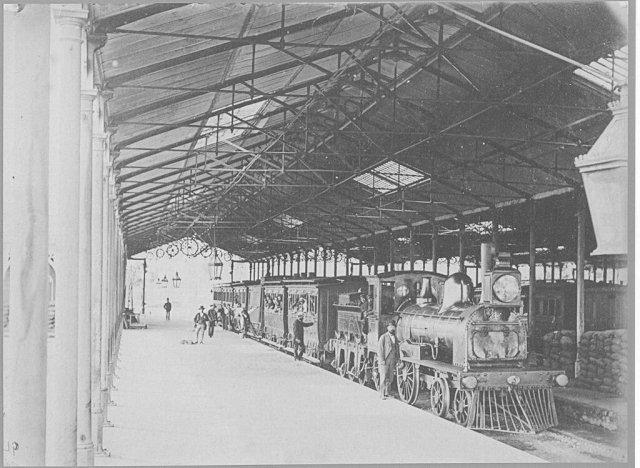 Est Mapocho 1880