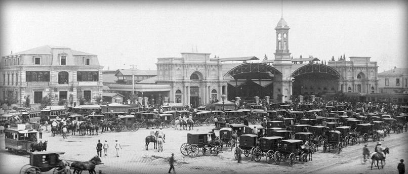 Esta Central 1885