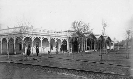 Estacion central 1865