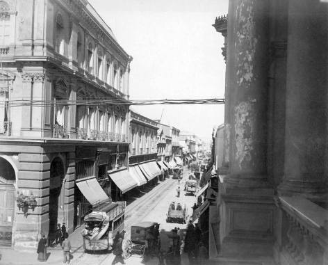 Santiago 1890 - Calle Ahumada