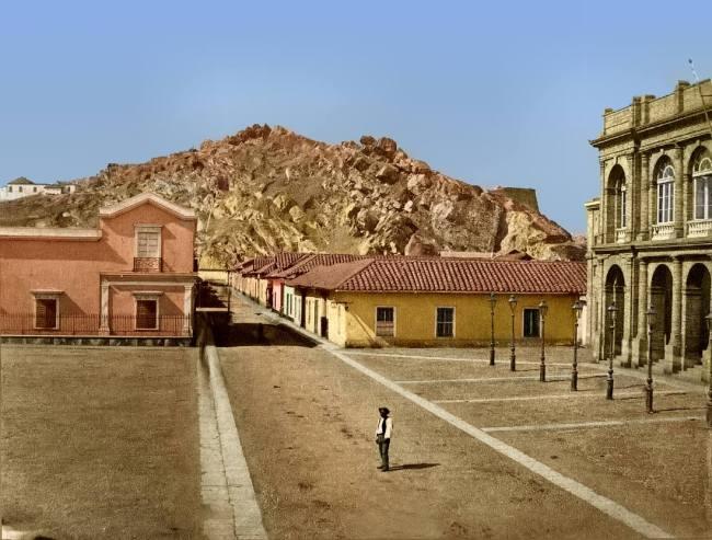 Santiago Sta Lucia 1860