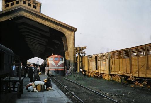 Temuco estacion 1958