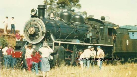 Tren de la Araucania 1985 Manzanar