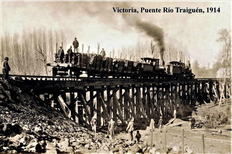 puente Traiguen 1914